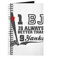 1 BJ Is Better Than 9 Yanks Journal