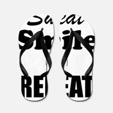 Sweat Smile and Repeat Workout Tank Flip Flops