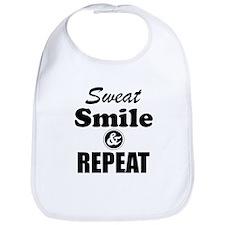 Sweat Smile and Repeat Workout Tank Bib