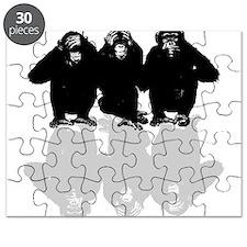3 monkeys Puzzle