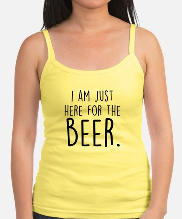 Here for the Beer Tank Top