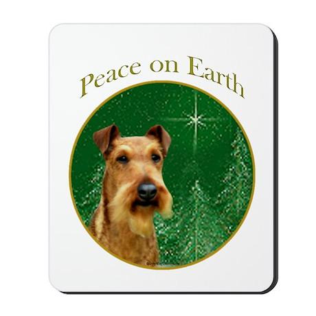 Irish Terrier Peace Mousepad