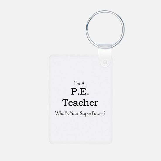 P.E. Teacher Keychains