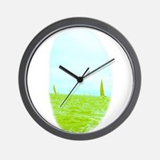 Peaceful Sailing Margaret's Fave Wall Clock