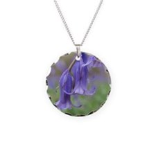 Hanging Bluebells Necklace