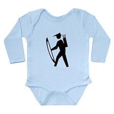 Cute Rpg ranger Long Sleeve Infant Bodysuit