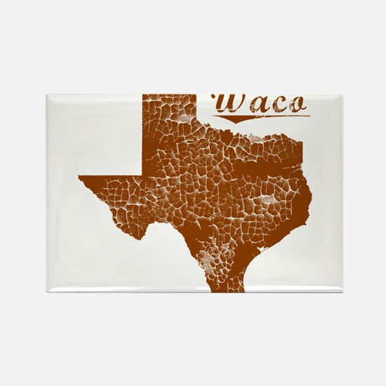 Cute Texas longhorns Rectangle Magnet