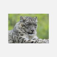 Leopard009 5'x7'Area Rug