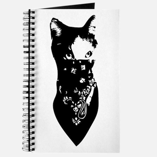 Cat Bandana Journal