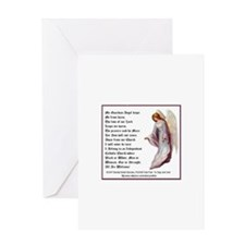 Guardian Angel Blank Greeting Card