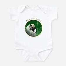 Keeshond Peace Infant Bodysuit