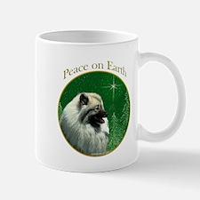 Keeshond Peace Mug