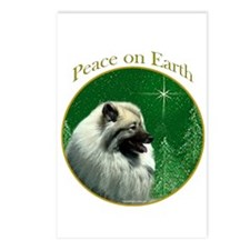 Keeshond Peace Postcards (Package of 8)