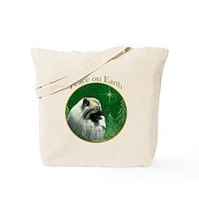 Keeshond Peace Tote Bag