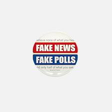 Fake News - Franklin Quote Mini Button