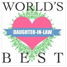 World's Best Daughter-In-Law Poster