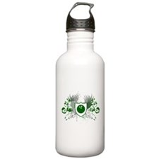 hi-fi bowling crest Water Bottle