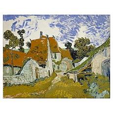 Vincent Van Gogh Street In Auvers-Sur-Oise Poster