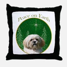 Lhasa Peace Throw Pillow