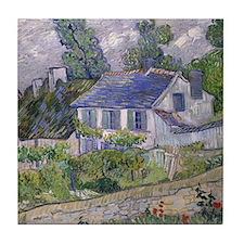 Vincent Van Gogh Houses At Auvers Tile Coaster