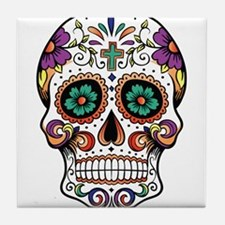 Cool Day of the dead Tile Coaster