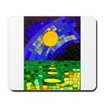 tmeret manymoons stained glass Mousepad