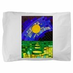 tmeret manymoons stained glass Pillow Sham