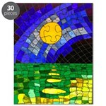 tmeret manymoons stained glass Puzzle