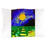 tmeret manymoons stained glass Pillow Case