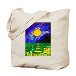 tmeret manymoons stained glass Tote Bag