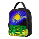 tmeret manymoons stained glass Neoprene Lunch Bag