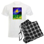 tmeret manymoons stained glas Men's Light Pajamas