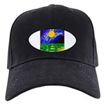 tmeret manymoons stained glass Black Cap