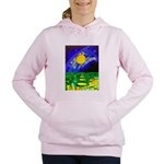 tmeret manymoons stained Women's Hooded Sweatshirt
