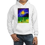 tmeret manymoons stained glass Hooded Sweatshirt