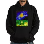 tmeret manymoons stained glass Hoodie (dark)
