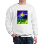 tmeret manymoons stained glass Sweatshirt