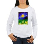 tmeret manymoons stain Women's Long Sleeve T-Shirt