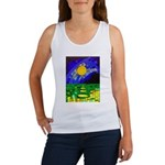tmeret manymoons stained glass Women's Tank Top