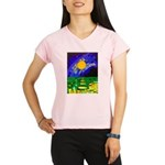 tmeret manymoons stained g Performance Dry T-Shirt