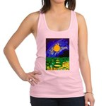 tmeret manymoons stained glass Racerback Tank Top