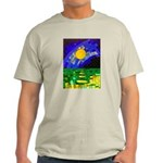 tmeret manymoons stained glass Light T-Shirt