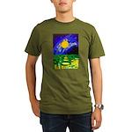 tmeret manymoons stai Organic Men's T-Shirt (dark)