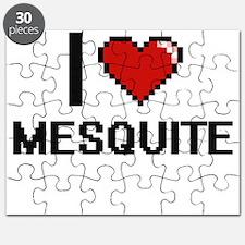 I love Mesquite Digital Design Puzzle