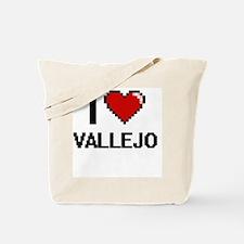 I love Vallejo Digital Design Tote Bag