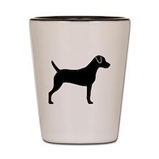 Parson Russell Terrier Shot Glass