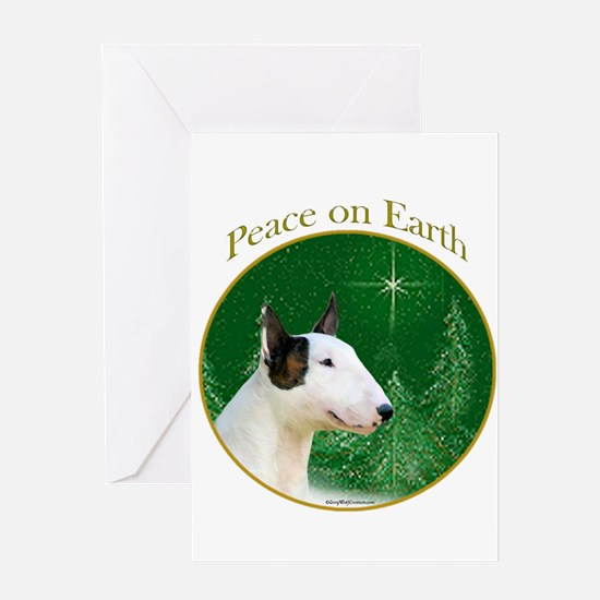 Mini Bull Peace Greeting Card