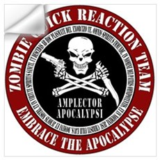 Zombie Quick Reaction Team Wall Decal