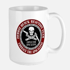 Zombie Quick Reaction Team Large Mug