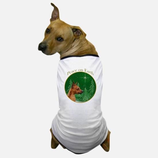 Min Pin Peace Dog T-Shirt